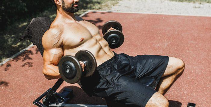 Bonne séance de musculation