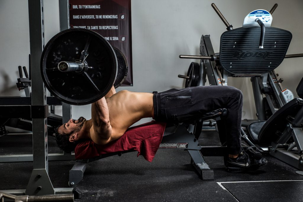 La répartition en musculation