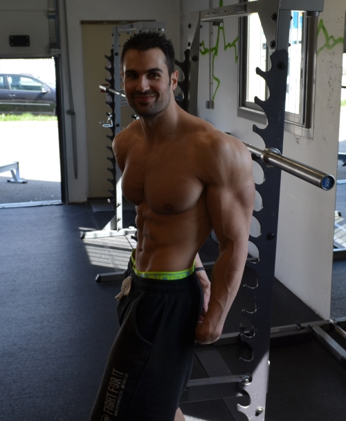 Rudy Coia - Posing - Musculation