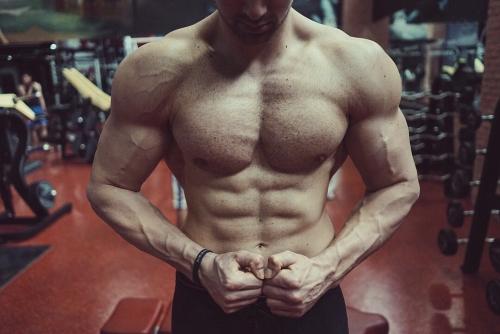 Le Gros plan en musculation