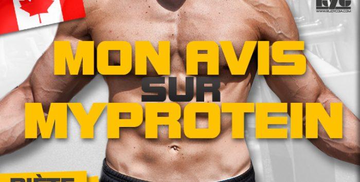 Mon avis sur MyProtein en musculation