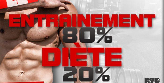 La diète est-elle plus importante que l'entrainement ?
