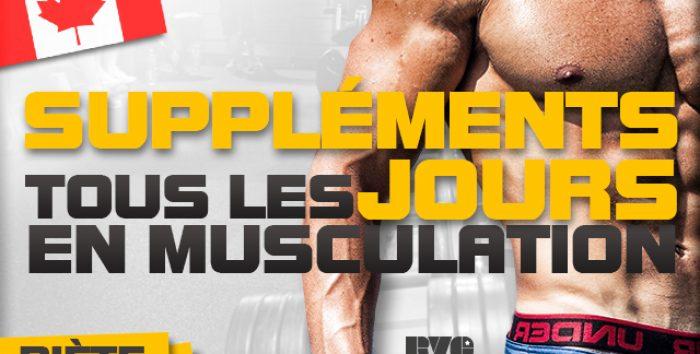 Faut-il prendre des suppléments tous les jours en musculation ?